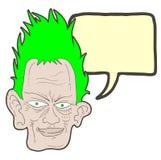 Green hair Stock Photos