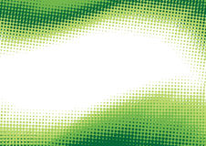 Green halftone background. Vector abstract background from green halftone Royalty Free Stock Photography