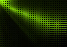 Green halftone background Royalty Free Stock Photo
