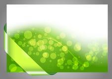 Green halftone bokeh background. Clip-art Royalty Free Stock Image