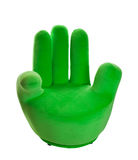 Green Hand Chair Stock Photography