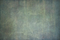 Green hand-painted backdrop with stripes Royalty Free Stock Photography