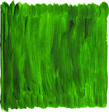 Green hand painted  background Royalty Free Stock Photos