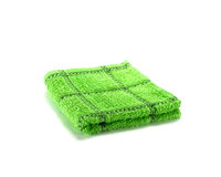 Green hand towel Royalty Free Stock Photo