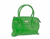 Green Handbag Royalty Free Stock Photography