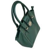 Green handbag Royalty Free Stock Photos