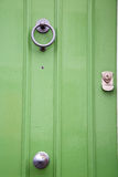 green  handle in london antique Royalty Free Stock Image