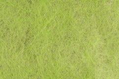 Green handmade fiber paper Stock Photo
