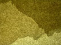 Green handmade paper Royalty Free Stock Images