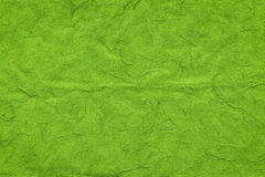 Green handmade paper texture Royalty Free Stock Image