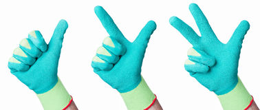 Green Hands Royalty Free Stock Image