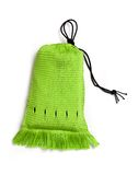 Green handwoven bag Stock Photos