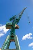Green Harbour Crane Stock Photos