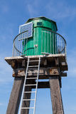 Green harbour light tower Whitby Stock Photography