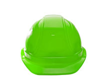 Green Hard Hat Royalty Free Stock Photography