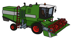 Green harvester Royalty Free Stock Image