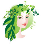 Green hat Stock Images