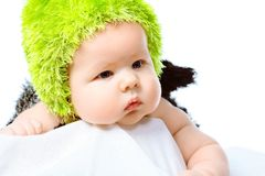 Green Hat Stock Photography