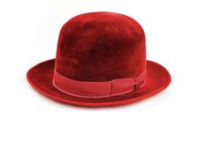 Green hat Royalty Free Stock Photos