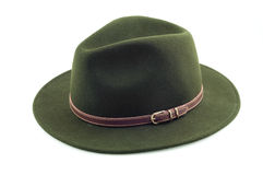 Green hat. Stock Images