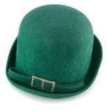 Green hat royalty free stock photos