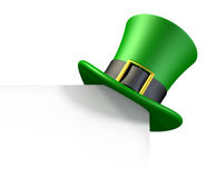 Green hat of a leprechaun Royalty Free Stock Photos