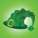 Green hat in saint Patrick Day Royalty Free Stock Photo