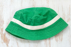 Green hat Royalty Free Stock Image
