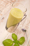 Green healthy smoothie Stock Photography
