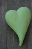 Green heart Stock Photos