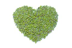 Green heart Royalty Free Stock Images