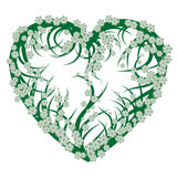 Green heart Stock Images