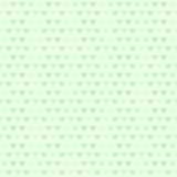Green heart pattern. Seamless vector striped background Stock Images