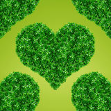 Green Heart Sign Stock Photos