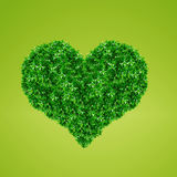 Green Heart Sign Royalty Free Stock Photography