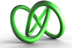 Green helix Stock Photography