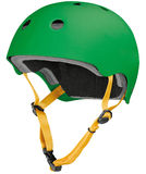 Green helmet Stock Photography