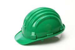 Green helmet Stock Photos