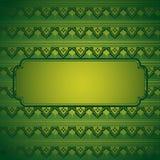 Green henna background Royalty Free Stock Photo