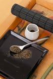 Green Herbal Tea Royalty Free Stock Photography