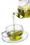 Green herbal tea Stock Image