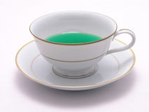 Green Herbal Tea 7 Royalty Free Stock Image