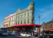 Free Green Heritage Building Landmark Of Newtown, NSW. Stock Photo - 127051810