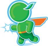 Green Hero as a Superhero. Including Vector Format vector illustration
