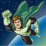 Green Hero Fly Stock Photo