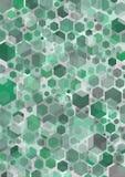 green hex Απεικόνιση αποθεμάτων