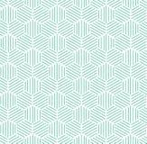 Green Blue Hexagonal Pattern Background. Green hexagonal pattern with white background. Could be used for background pattern stock illustration