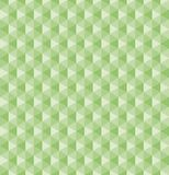 Green hexagonal pyramid seamless 3d geometric vector pattern stock illustration
