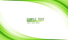 Green high tech abstract background royalty free illustration