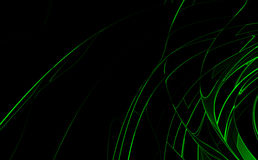 Green high-tech background. Green & black high-tech background Royalty Free Stock Images
